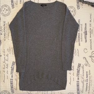 High low pullover tunic sweater